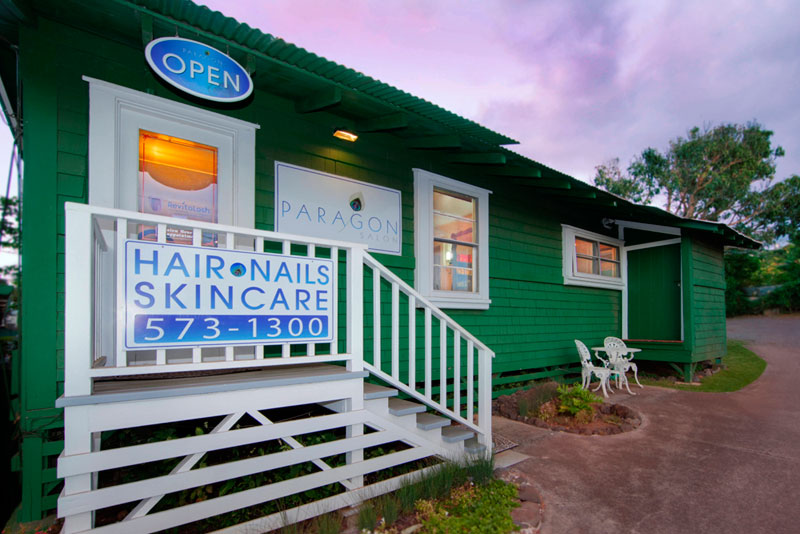 Paragon Salon, Makawao, Maui - Hair, Nails, Waxing, Facials, Massage