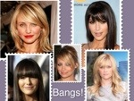 Our Weekly Obsession ~ Bangs!