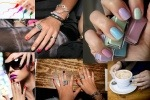 What's Trending?  Multi Colored Nails!