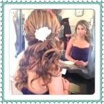 Gorgeous Side Swept Barrel Curls